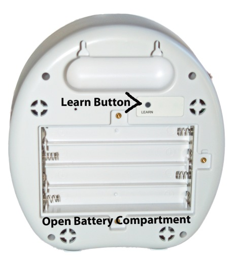 Barking Dog Alarm Open Battery Compartment small